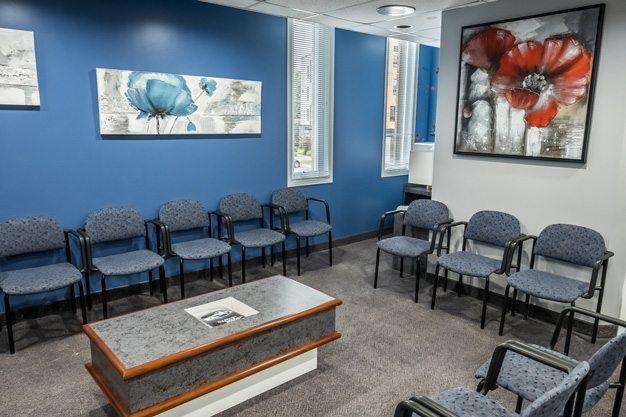 salle d'attente, clinique dentaire ART de laval 2