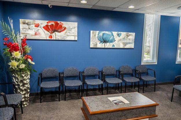 salle d'attente, clinique dentaire ART de laval